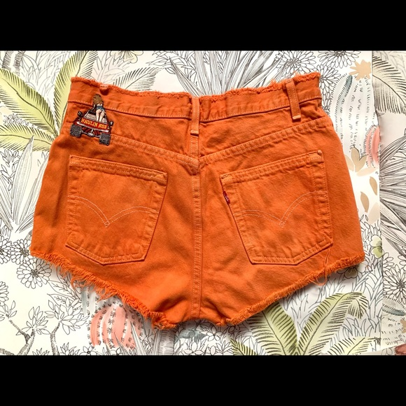 Levi's Vintage Booty Shorts